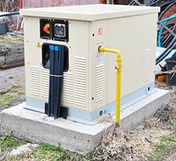 Газогенератор на улице