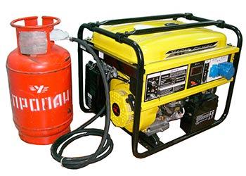 Газовый генератор резервного питания