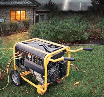 Бензиновый генератор для дачи