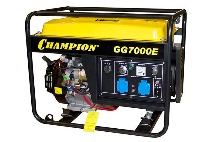 Бензиновый генератор Champion 7000E
