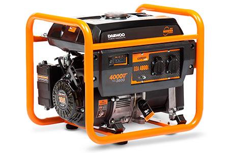 Бензиновые генераторы Daewoo